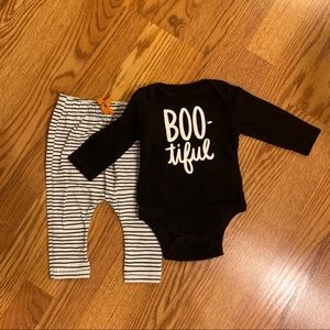 3-6 month Halloween outfit